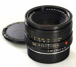 Leica Summicron-R 50mm F/2.0