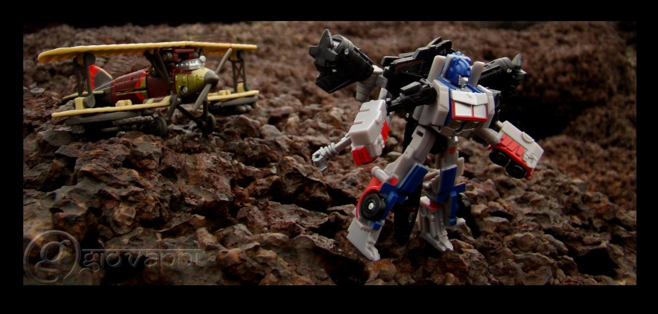 Ransack & Optimus Prime