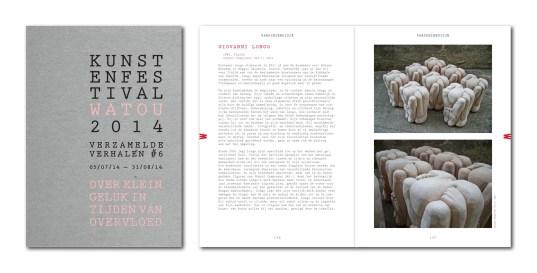 Catalogo Kunstenfestival Watou 2014