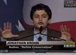 Jonathan Krohn is a 13 year old Ronald Reagan.