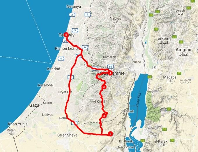 Adventure in the Negev Desert: The Israel Roadtrip