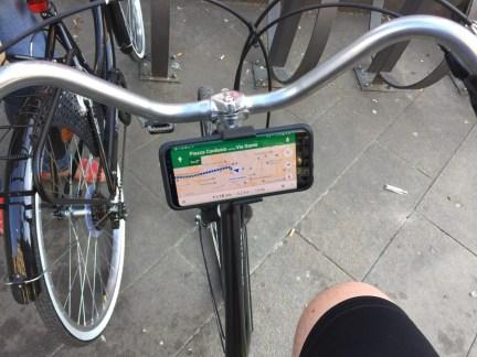 Navigatore e smartphone in bicicletta? Niente di più semplice 1