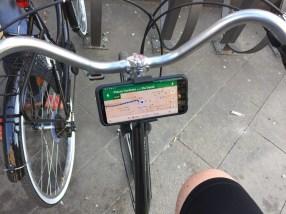 Navigatore e smartphone in bicicletta? Niente di più semplice