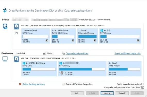 Problemi di risoluzione video per Macrium e Lenovo T470s 2