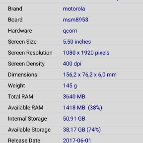Motorola Moto Z2 Play 2
