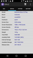 Motorola Moto Z2 Play 3
