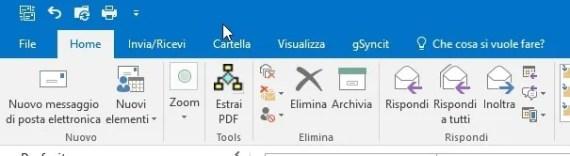 Outlook 2016: scaricare insieme gli allegati da diverse mail (PDF) 5