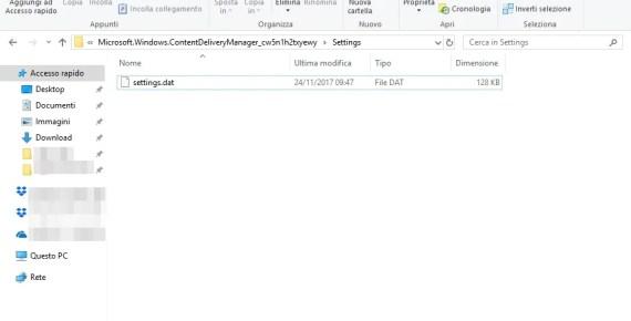 Windows Spotlight bloccato? Come risolvere 2