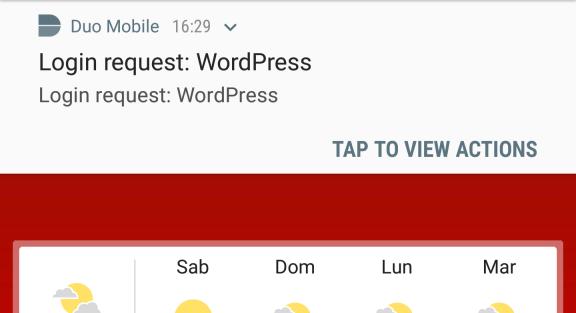 WordPress: migrazione da Authy OneTouch a Duo 8