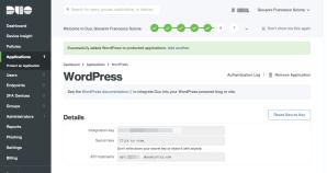 WordPress: migrazione da Authy OneTouch a Duo 2