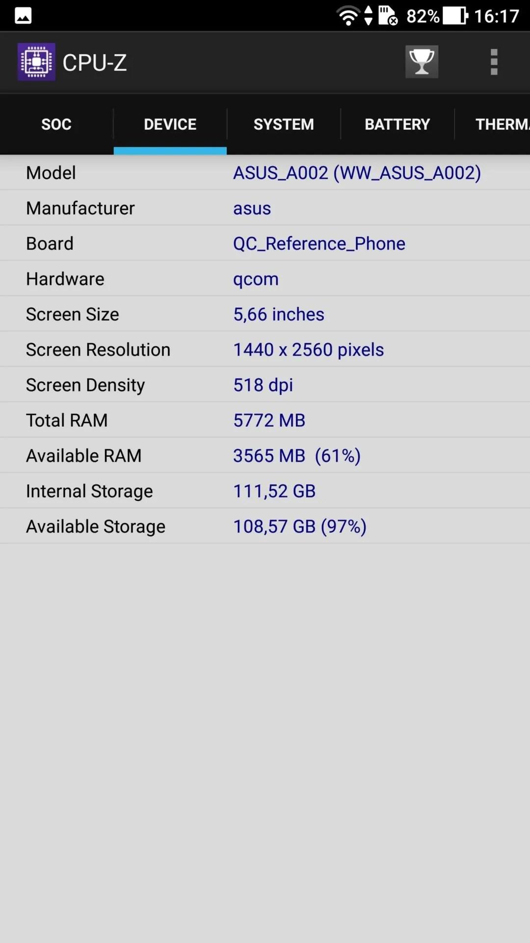 ASUS ZenFone AR (ZS571KL) 2