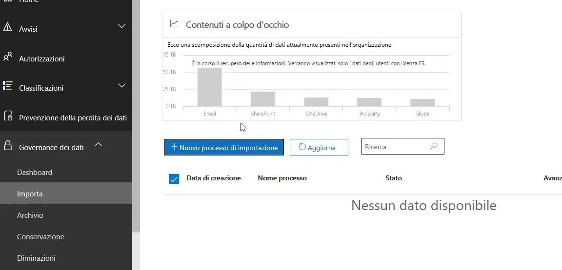 Office 365: importazione PST da disco locale a Exchange Online 1