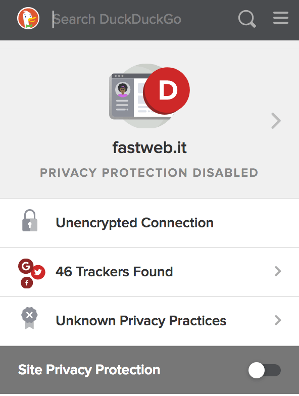 Un'occhiata a DuckDuckGo Privacy Essentials 12