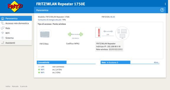 AVM FRITZ!WLAN Repeater 1750E: estendi la tua rete WiFi su più livelli 12