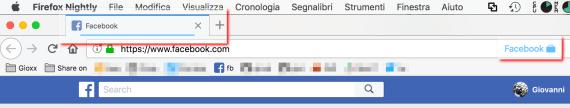 Firefox: Facebook Container impedisce il tracciamento sul web 1