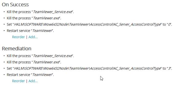 Kace: TeamViewer Remote Host Switch 1