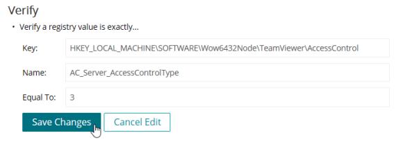 Kace: TeamViewer Remote Host Switch