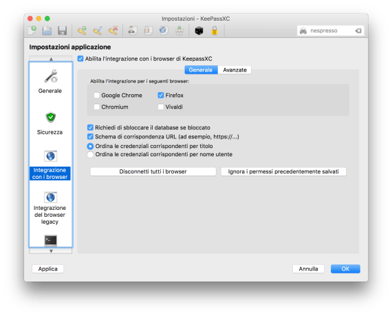 "L'ecosistema ""KeePass based"": gestire password tra più sistemi 4"