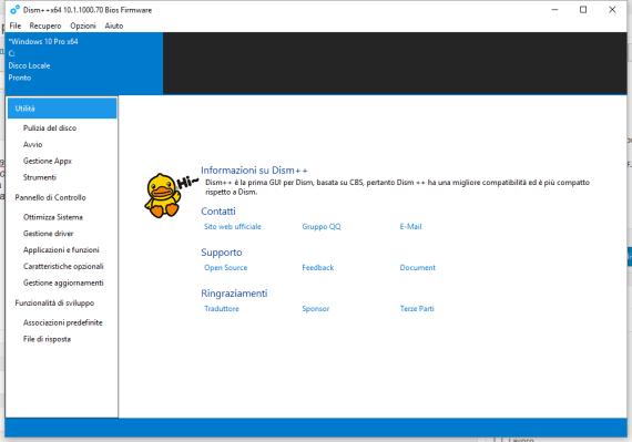 Dism++: pulizia e gestione profonda del disco e del tuo Windows 1