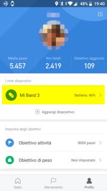 Xiaomi Mi Band 3 NFC: traduzione italiana 2