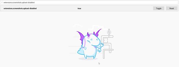 Firefox: Addio agli screenshot, benvenuto nuovo about:config! 2