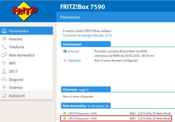 AVM FRITZ!Repeater 2400 e FRITZ!Powerline 1260E WLAN Set: un po' di novità in casa 9