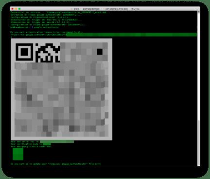 Raspberry: abilitare la 2FA per collegarsi in SSH 2