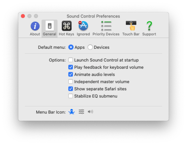Gestire le sorgenti audio su macOS 7