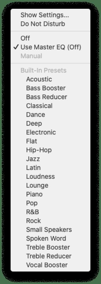 Gestire le sorgenti audio su macOS 6
