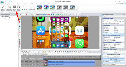 Trasformare un video verticale in orizzontale con VSDC Free Video Editor 1