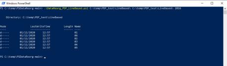 PSDataReorg: riorganizzare file PDF in base alla data riportata al loro interno 8