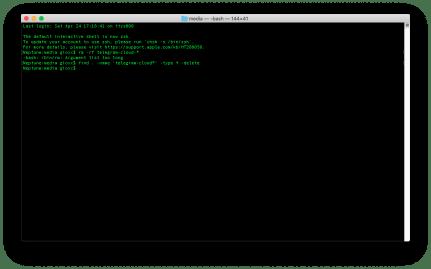 macOS: pulizia dei file obsoleti di Dropbox e Telegram 4