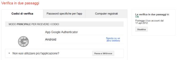 """""""2-step di Sicurezza"""": Migrazione da Google Authenticator ad Authy"""