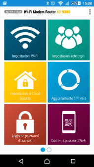 Sitecom X3 N300 Wi-Fi Modem Router (WLM-3600): configurazione Fastweb 2