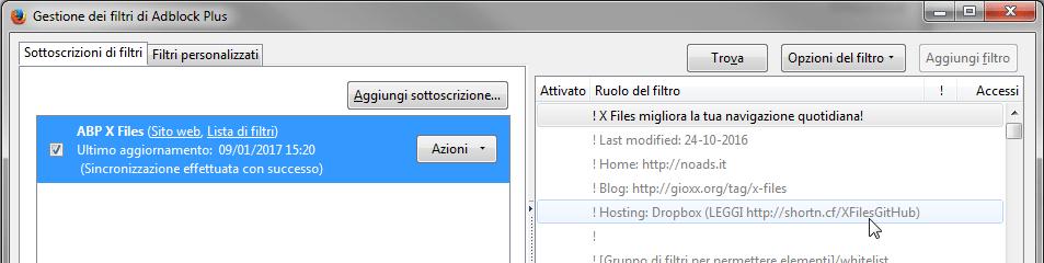 ABP X Files e GitHub: hai aggiornato la tua sottoscrizione?