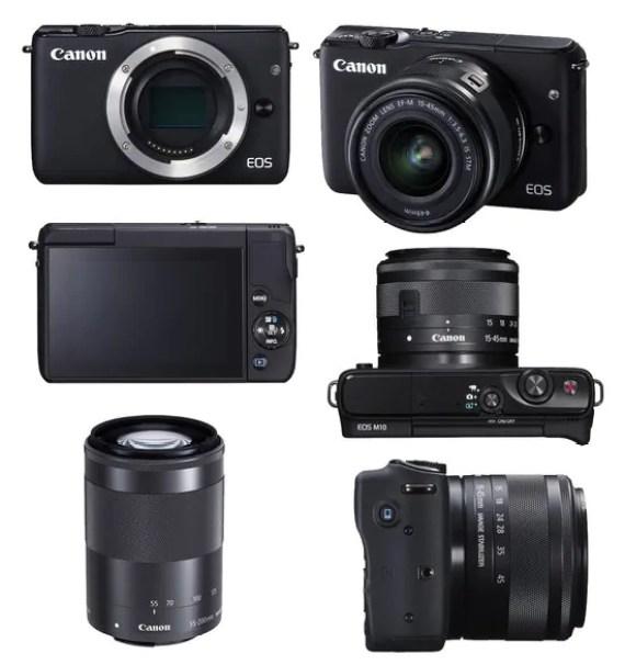 Canon EOS M10: un'occhiata al mirrorless 1