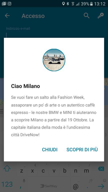 Car Sharing: BMW approda a Milano con DriveNow 1