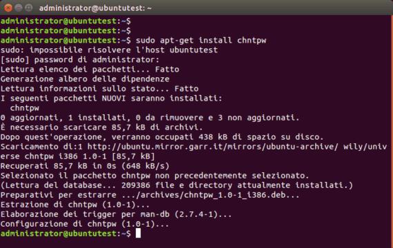 Chntpw: cambiare password all'amministratore di Windows 11