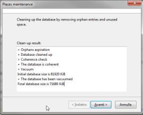 Firefox: ottimizzazione dei DB SQLite 3