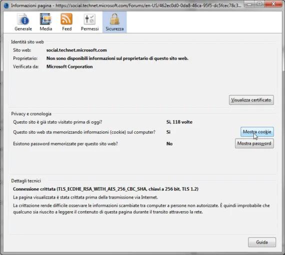 Firefox: risolvere il problema del Bad Request - Request Too Long 4