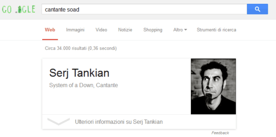 google-cantanteSOAD