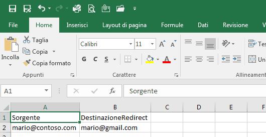 Office 365 e PowerShell: abilitare il forward delle caselle di posta