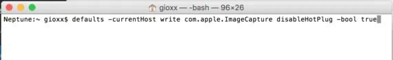 OS X: bloccare l'apertura automatica di Foto