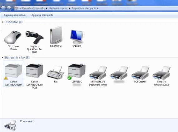Rimozione delle stampanti di rete o locali da Registro di Windows 2
