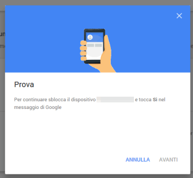 Sicurezza: la nuova 2-step verification di Google 2