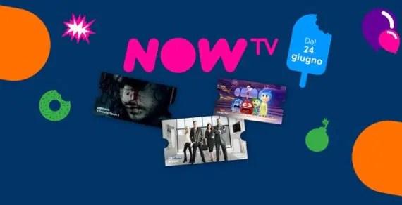 Sky Online diventa Now TV, cosa cambia?