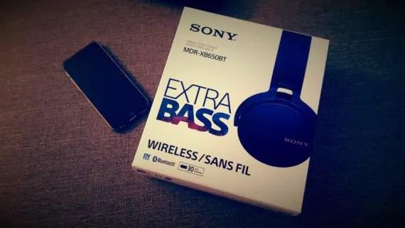SONY MDR-XB650BT: l'audio in vacanza, senza fili in mezzo