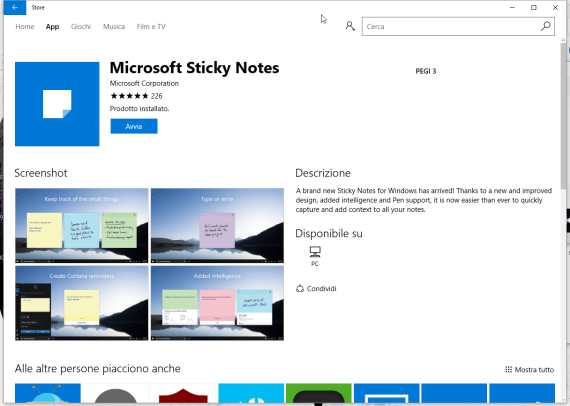 Sticky Notes Backup & Restore, ora per Windows 10
