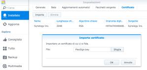 Synology: aggiornare Plex manualmente 4