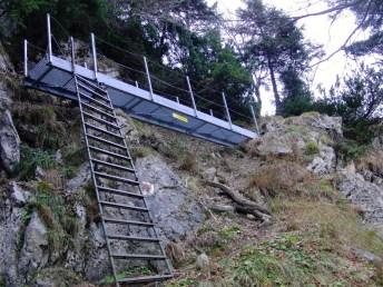 Einstieg in den Steig © Gipfelfieber.com